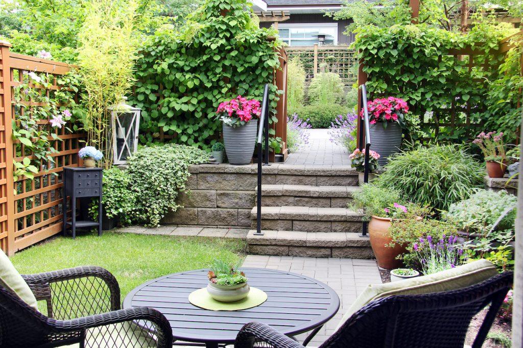 townhouse vancouver garden